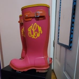 HUNTER girls boots